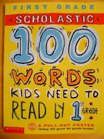 100words kids need to read by 1st grade