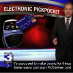 electronic pickpocketing