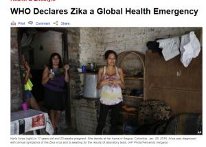 WHO zika