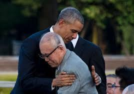 obama meets survivors