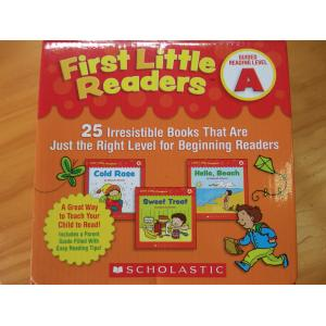first little readers a box