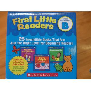 scholastic first little reader B