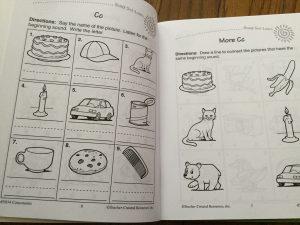 consonants workbook inside
