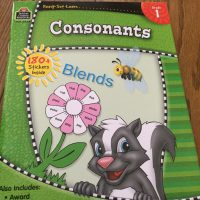 consonants workbook