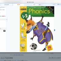 Phonics workbook fox