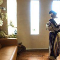 Risa in kimono